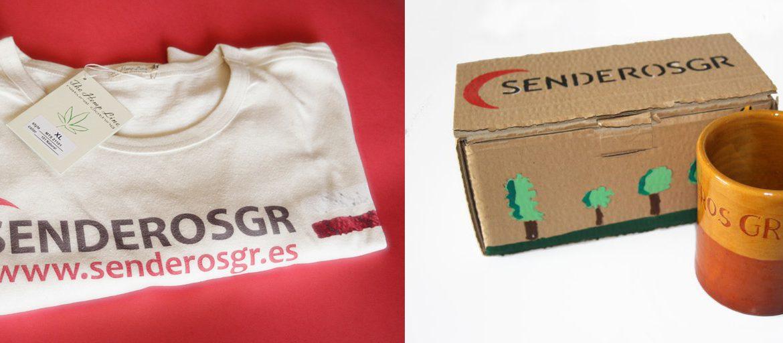 camiseta y taza de senderosgr