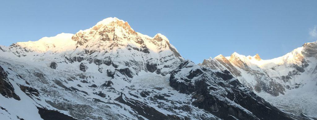 Perfil Annapurnas - Himalaya