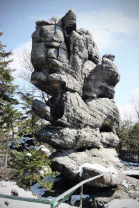 Roca don forma de rostro