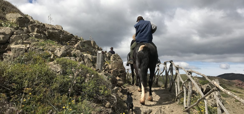 GR223 a caballo